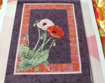 DUTCH QUILTER - POPPIES - Quilt Pattern Only