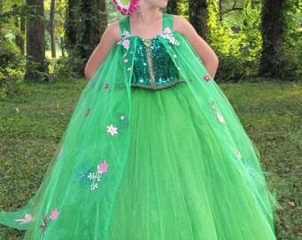 frozen fever elsa dress, frozen fever dress, elsa costume, frozen elsa dress, Frozen Fever inspired elsa dress, Disney Character costume