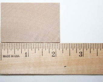 """25- 2-1/4""""x 1-1/2"""" Unfinished Wooden Rectangles-  Craft Wood, DIY Craft, Wood Tiles"""