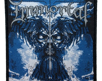 """Black Metal Band """"Immortal"""" All Shall Fall Album Cover Sew On Applique Patch"""