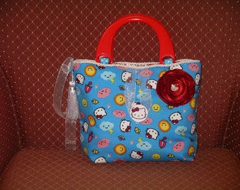 Hello Kity Blue Baby-Care Bag
