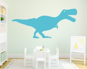 T-Rex Wall Art Decal - Dinosaur Decal, Dino Wall Sticker, Dinosaur Decor, Dino Nursery, T-Rex Wall Art, T-Rex Decal, Dinosaur Wall Art