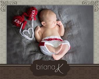 Knitting Pattern Boxing Gloves : UCF Knights Hat/ Baby Knightro. Newborn 12 by BrianaKcrochet