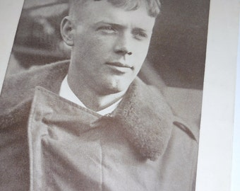 Charles Lindbergh  July 22, 1927 Lindbergh Flies Alone  Over The Atlantic Aviation History Filene's ,  Boston
