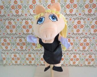 Disney Muppet Rare complete hand puppet muppet show Miss Piggy
