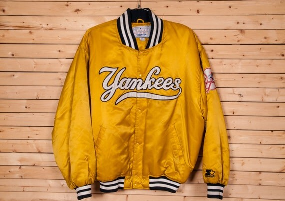 YANKEES Starter Baseball Jacket Size XL