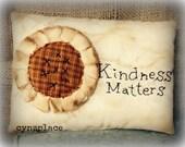 Fall Sunflower Homespun Pillow Tuck MADE TO ORDER