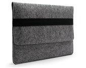 "20%OFF!Felt Macbook Case Macbook Sleeve 11"" 13"" 15'' Macbook Pro / Retina Pro Macbook Cover Laptop Bag with Black Eslastic Band E2025"