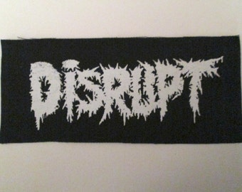 DISRUPT PATCH - On Black Canvas