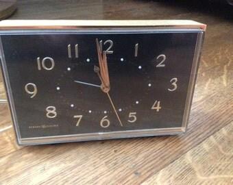SALE / Mid Century Clock / Mid Century Electric Clock / Unique Clock / 1950's Clock