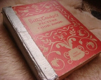 Vintage 1950 1st Edition Betty Crocker's Picture Cook Book Spiral Cookbook Recipes