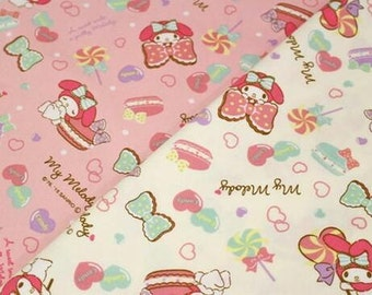 SANRIO My Melody / Japanese Fabric 100cm x 50cm