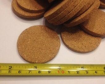 20 cork discs, 50 mm (BR32)