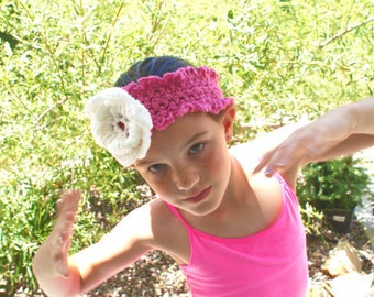 Womens Headband, Dressy Headband, Ski Band, Crochet Hairband, Flower hairband, Winter Headband, Fashion Headband, Ear warmer Headband
