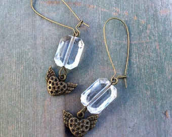 Hearts A Flutter Earrings/Boho/Hippie/Wedding