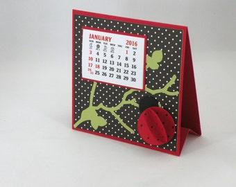 Ladybug 2018 Desk Calendar