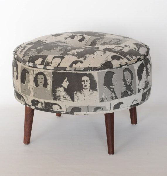 Escabel del otomano taburete Banco muebles tapizados