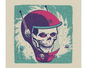 Atomic Skull print
