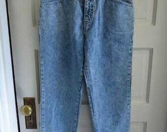 Vintage 80s CRISTINA Brand Mom Jeans High Waist sz 26