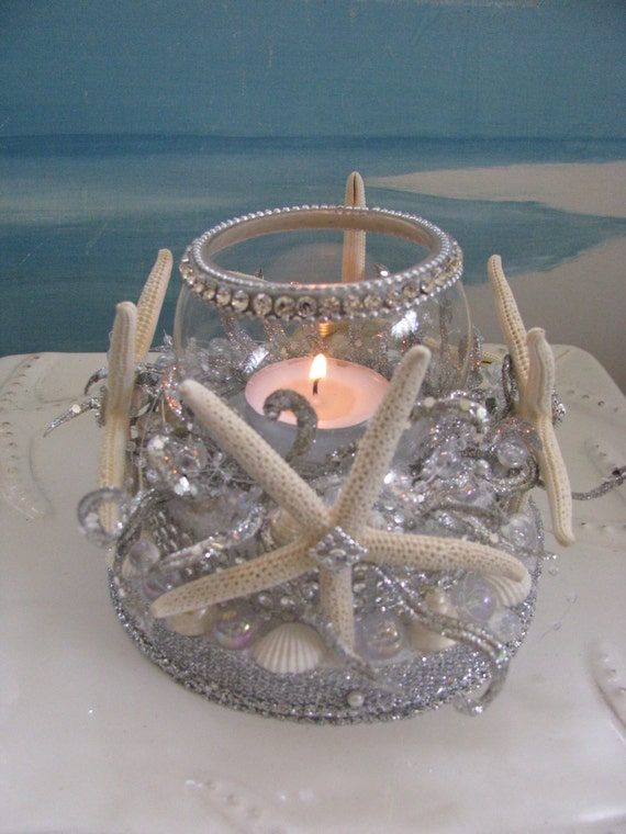picture holder wedding cake topper starfish wedding cake topperseashellscandle holder 18353