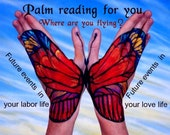 Advanced Palm Reading by email, Spiritual Guidance, Your future events, Answers to your questions, Your personality