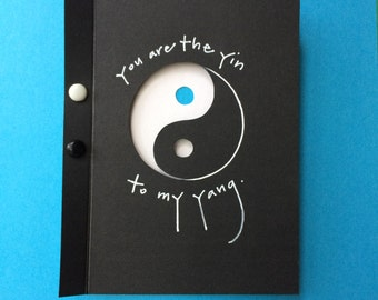 You Are the Yin To My Yang Card