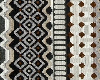 Modern Black White Velvet Upholstery Fabric For Furniture Dark Grey Velvet Pillow Covers Abstract