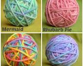 THICK YARN Thick WOOL 16ply handdyed - 50g / 1.76 oz. Choose colour. Kids craft Handcraft Waldorf Knitting - Australia. Bulky yarn for craft