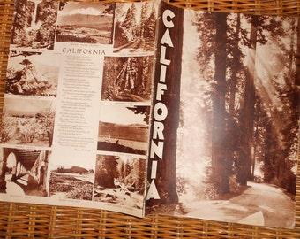1933 California A Century of Progress booklet Pictorial Guide World's Fair Exposition Omnibus Memorabilia