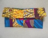Ankara African Patchwork Clutch