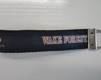 Wake Forest Key Fob Wristlet