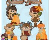 2015 Autumn Pixies  Clip art  Clipart Graphics  Commercial Use