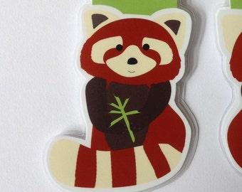 Red Panda Magnetic Bookmark