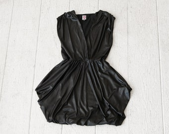 Party Dress Avant Garde Minimalist Black