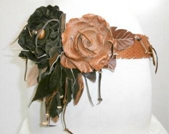 Flower and Leaf Belt