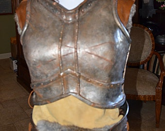 Womens Iron Armor Chest Piece