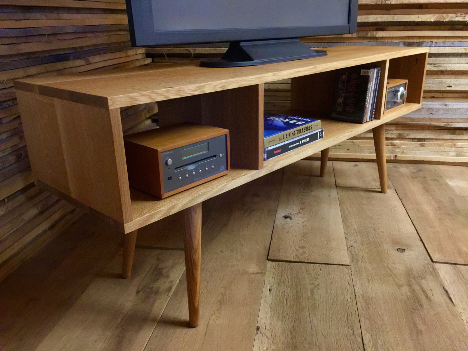 Mid century modern TV & stereo cabinet or media console