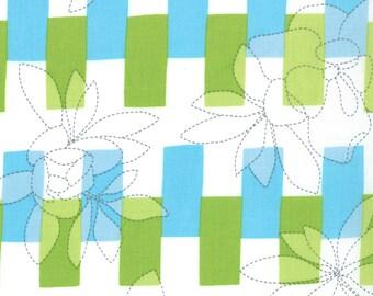 Quilting Weight Fabric Quilt Blocks in Marine by  Ellen Baker for Moda 1 yard