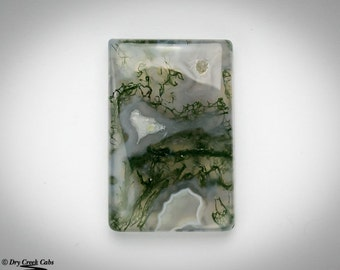 Moss Agate Cabochon