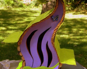 Butterfly House.Butterfly Nesting Box, Curvy Lady Butterfly House