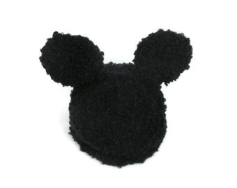Knit Baby Mouse Hat
