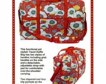 Travel Duffle Bag Pattern by Annie PBA203