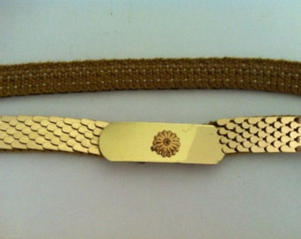 Vintage Belts Gold & Silver collection