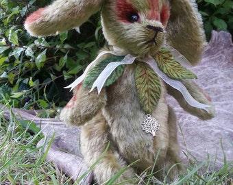 OOAK Hand made Woodland Bunny