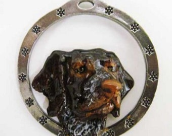 Painted ~ German Shorthair ~ Holiday Ornament ~ DP086OR