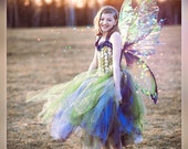 Large Iridescent Realistic Fairy wings