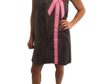 Towel Wrap- Spa Wrap- Custom Towel Wrap- Custom Spa Wrap- Chevron Wrap- Chevron Towel Wrap- Womens Towel Wrap- Plus Size Towel Wrap