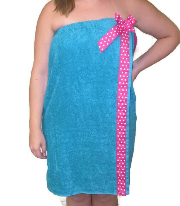 Velcro Shower Towel Wrap: Plus Size Towel Wraps Towel Wraps Bath Wraps Spa