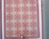 """Renee Plains: Pie Safe Quilt with 14"""" Primitive Doll and Collar button A Liberty Star Pattern."""