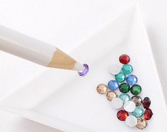 Rhinestones crystal picking pen picker tool for picking up rhinestones and gemstones pencil